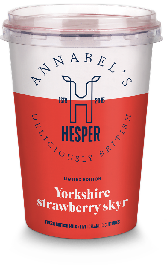 HESPER Yorkshire strawberry skyr
