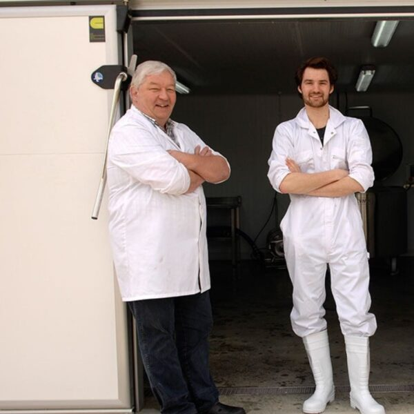 Two blokes in a Skyr Shed? Or Daft Punk'...