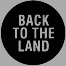 logo back to the land
